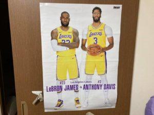 バスケのポスター